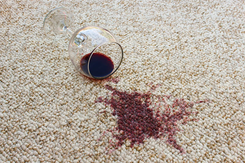 Carpet Cleaning Wine Stains